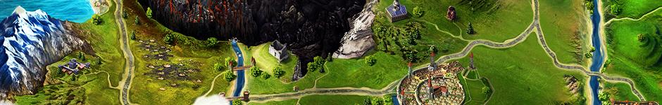 Карта для социальной онлайн-игры