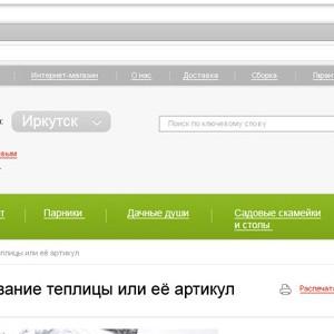 Дизайн сайта для компании «СОТА»