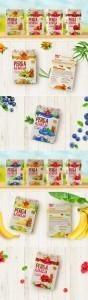 PERGA AZARIJA. Упаковка для продукта на основе перги и ягод.