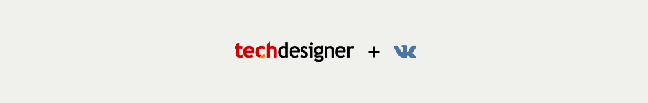 Techdesigner + VK