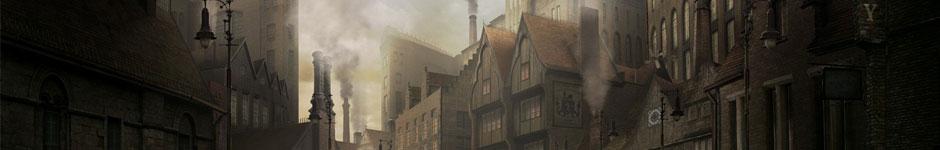 Работа для конкурса Весна 2012 — Стимпанк город