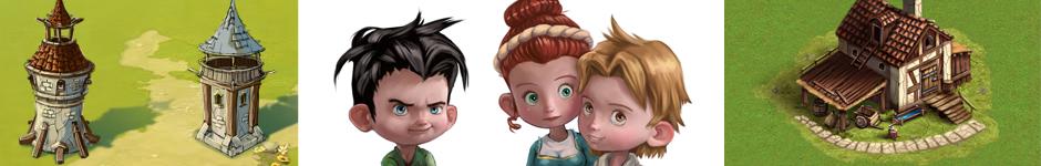 Ищем спциалистов: 2D художника, 3D аниматора, 3D моделлера окружения