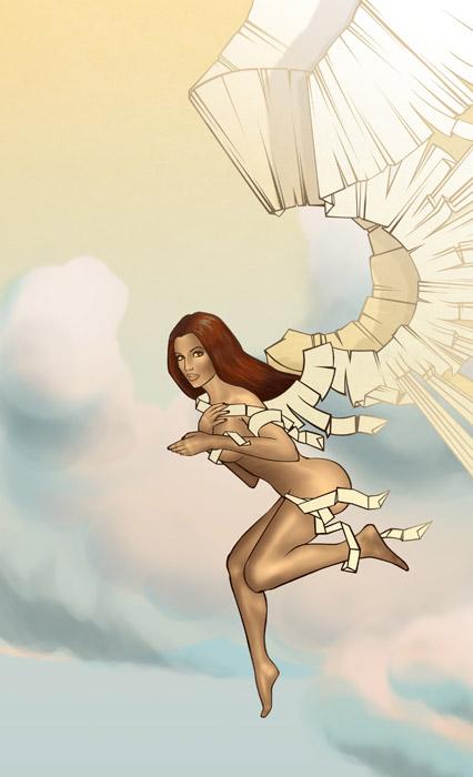 Бумажная фея