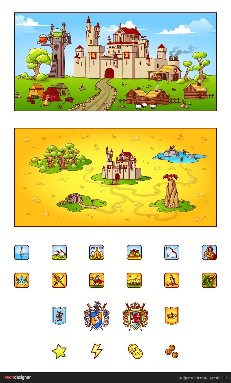 Картинки для небольшой браузерной игрушки