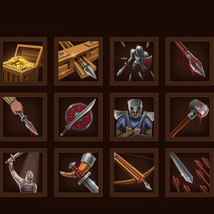 Mercenaries icons