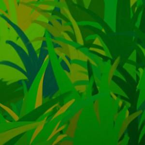 Как создать кисть травы