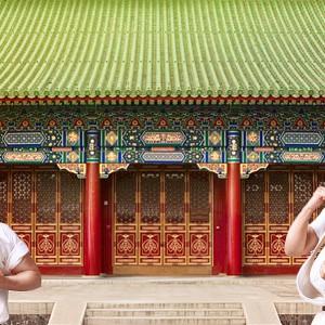 Азиатский дворик