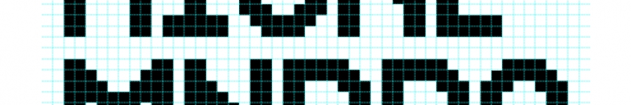 Нужна помощь по пиксельному шрифту