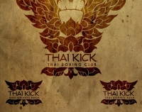 Логотип для школы тайского бокса