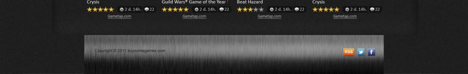 Сайт онлайн-продажи игр