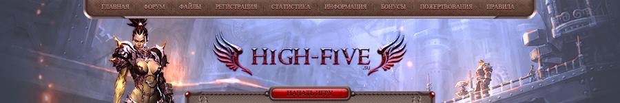 Дизайн для сайта игрового сервера Lineage 2