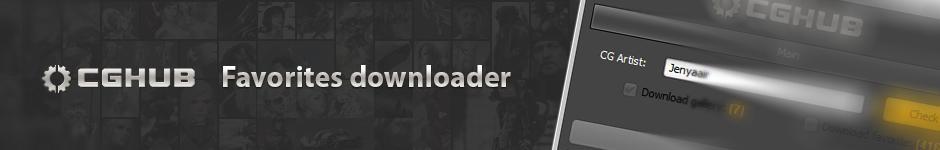 CGHUB - Favorites downloader