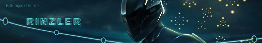 Rinzler (TRON: legacy fan-art)