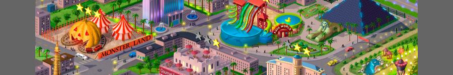 Иллюстрация для игры Slots Story (Facebook)