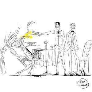 Убийство шпионки. Эпизод из романа В. Пикуля