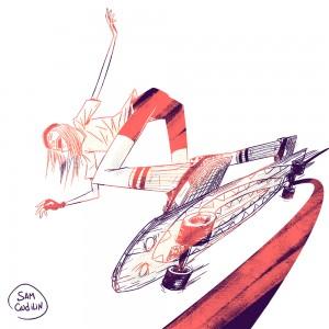 Skate Girl 09