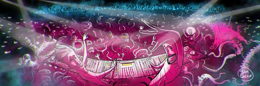 Иллюстрация для музыкальной группы