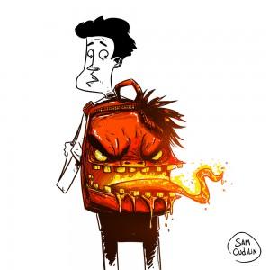 Дьявольский рюкзак