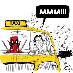 Дэдпул и таксист Допиндер