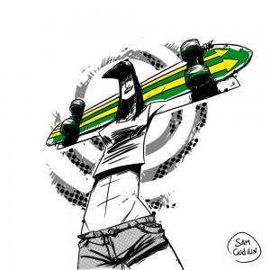 Skate Girl#2