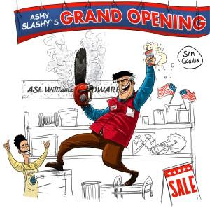 Магазин Эша Уильямса открыт!