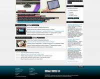 Дизайн сайта по Hi-Tech новостям