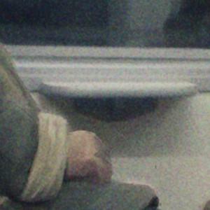 Бабулька в поезде