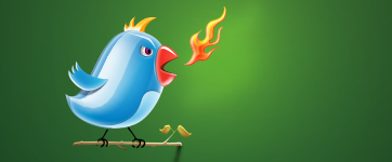 Angry twitter!