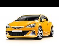 Отрисовка Opel Astra OPC 2012