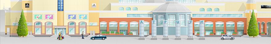 Дизайн для торгового комплекса (Конкурсный)