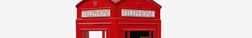 Английская телефонная будка
