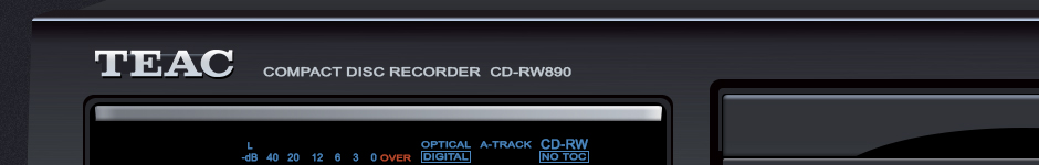 TEAC CD-RW890
