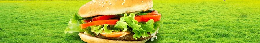 Большой и вкусный  Гамбургер :)