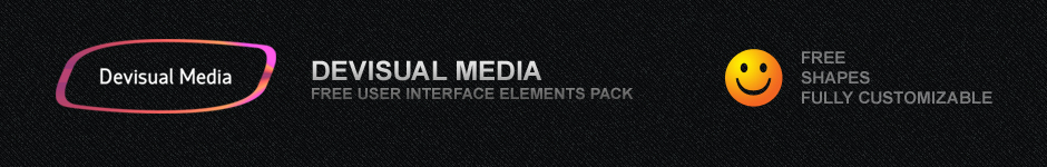 Devisual Media бесплатные UI элементы
