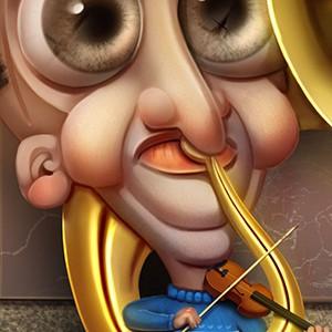 Человек-оркестр.