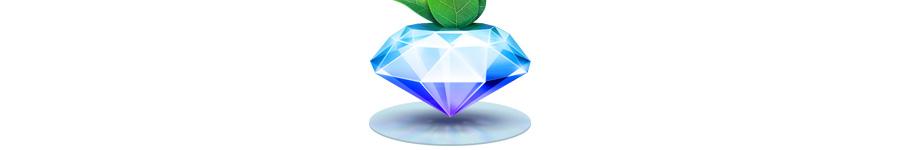 Алмазная иконка