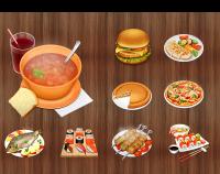 Иконки еды