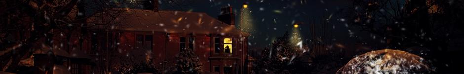 В темную зимнюю ночь