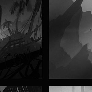 Black and white thumbnails