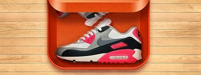 Иконка Nike AirMax для iOS