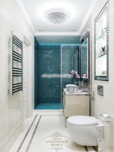Элегантная ванная комната от Luxury Antonovich Design