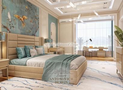 Уютная спальня от Luxury Antonovich Design