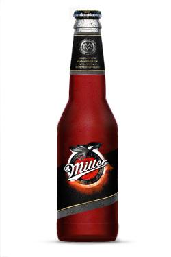 Бутылка пива Miller