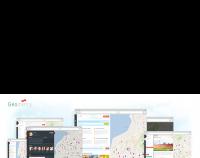 GeoMetry — дизайн геосоциальной сети для продажи на themeforest