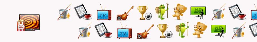 Иконки для тематических пакетов каналов cn.ru