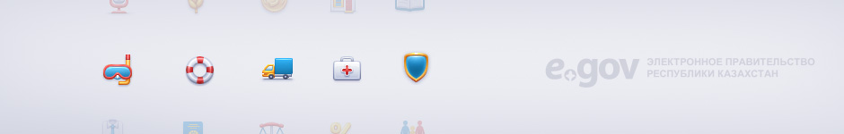 Набор иконок для E-gov