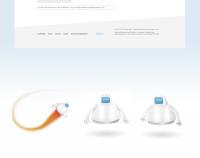 Сайт компании занимающейся информационной безопасностью