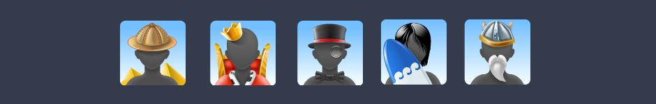 Пару сетов иконок, для почтового приложения