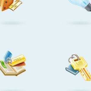 Иконки для библиотечного приложения
