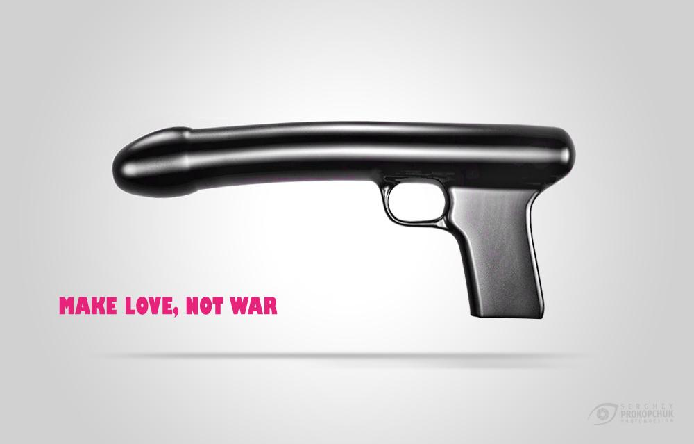 Make love, not war :)
